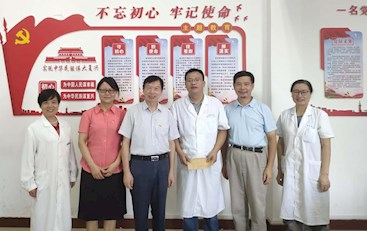 党委副书记黄士安走访慰问抗疫一线党员代表